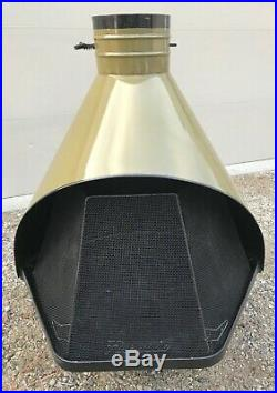 PRICE REDUCED Vintage 1960's-1970's Mid Century Modern-Porcelain Cone Fireplace