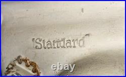 Pair Early 1900 Antique Vtg American Standard Bathroom Sinks Cast Iron Porcelain