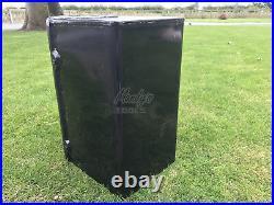 Postbox Letter Post Box Cast Iron Black Medium with 2 Keys