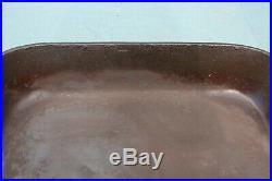 RARE HTF Antique Wagner Ware Cast Iron Baking Pan OLD Cake Pan #1508