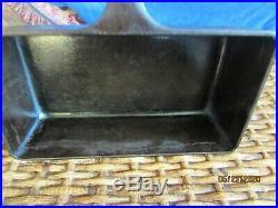 Rare Antique Griswold Cast Iron Loaf Pan #877