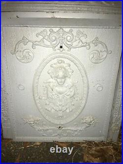 Rare Cast Iron Fireplace Surround Cover Godness