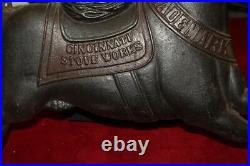 Rare Large Original Antique 1903 Cincinnati Stove Works 39 Cast Iron Sign