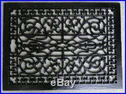 Rectangular Floor Grate Vent Replica Big Huge Solid Cast Iron Vintage Old Style