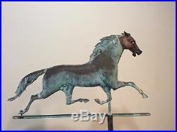 Running Horse Weathervane Antique