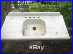 Salvage Kohler Heavy Cast Iron Porcelain Farm Kitchen Sink Cabin cottage