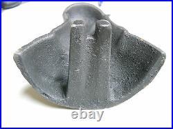 Set of 4 Cast Iron Antique Style Bath Tub Feet, CLAW FOOT Black