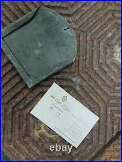 THE CAFÉ ROYAL 19h Century Industrial vintage cast iron tiles / cocktail book