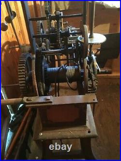 Tower Clock Early E. Howard Movement From Late 1800s