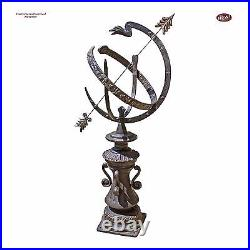 Victorian Hyde Park Armillary Sphere Zodiac Signs 40 Cast Iron Garden Statue
