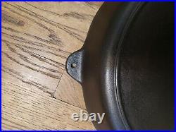 Vintage #14 BSR Red Mtn. Cast Iron Skillet