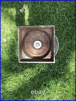 Vintage Antique Cast Iron Garden Planter Urn