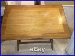 Vintage Antique Drafting Table with a very unique and special history