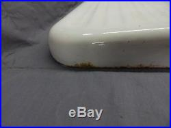 Vintage Cast Iron White Porcelain Sink Extension Standard Drainboard 186-18P