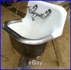 Vintage Kohler Cast Iron Mop Sink