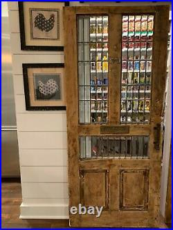 Vintage Pantry Door with Mail Slot