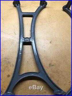 Vintage Restored Orion Cast Iron Table/desk Legs