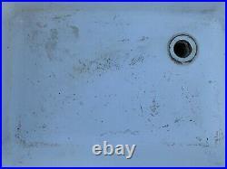 Vintage cast iron utility sink
