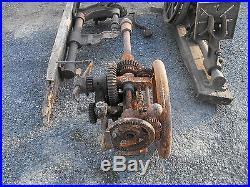 Vtg Antique Cast Iron Champion Buffalo Forge Co Drill Press Parts Repair Lot