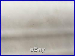 Vtg Cast Iron Porcelain Double Drainboard Single Basin Kitchen Sink 599-17E